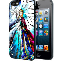Princess Elsa and Anna Stained Glass Samsung Galaxy S3 S4 S5 Note 3 , iPhone 4 5 5c 6 Plus , iPod 4 5 case