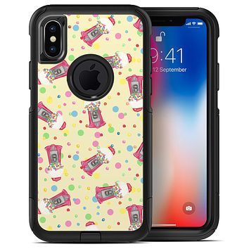 The Fun Colorful Gumball Machine Pattern - iPhone X OtterBox Case & Skin Kits