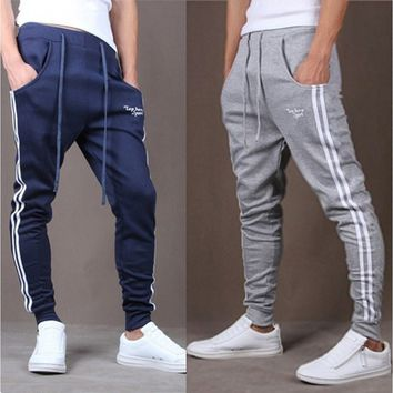 2017 New Fashion Cool Design Men's Sport Long Pants