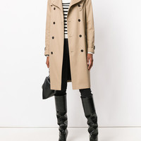 Saint Laurent Belted Classic Trench Coat - Farfetch