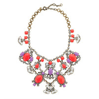 Crystal color stone statement necklace - necklaces - Women's jewelry - J.Crew