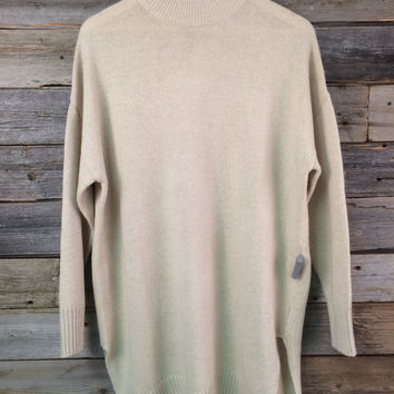 BOYFRIEND OVERSIZED SWEATER - CREAM