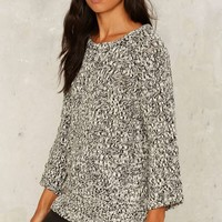Cheap Monday Hype Cutout Sweater