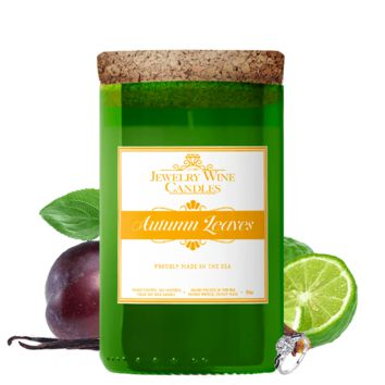 Autumn Leaves | Jewelry Wine Candle®
