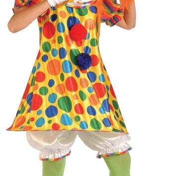 Clown Giggles Adult freak show costume