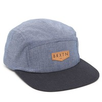 Brixton Haft 5 Panel Hat - Mens Backpack - Blue - One
