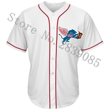 New Designs Summer Detroit Jerseys Shirts, Stitched Custom Red Wings/Pistons/Lions/Tigers Team Player Any Name And Number Jersey