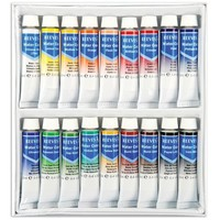 Reeves Assorted 12-Milliliter Watercolor Paint, 18-Pack