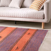 One-Of-A-Kind 4x7 Moroccan Woven Rug - Urban Outfitters