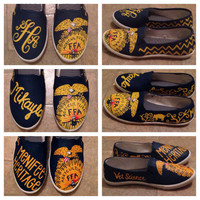 FFA Custom Painted Canvas Shoes