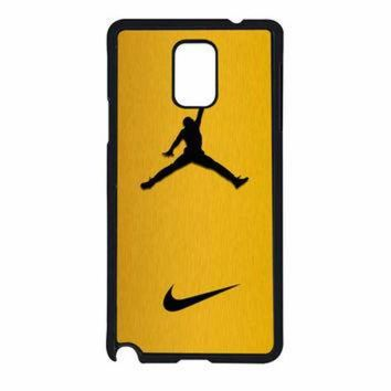 VONR3I Nike Air Jordan Golden Gold Samsung Galaxy Note 4 Case
