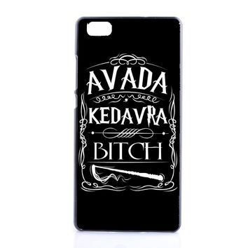 Hot Sale Harry Potter Friends Avada Kedavra Bitch Case For Huawei Ascend P6 P7 P8 P9 Lite Mini  Luxury Hard Back Cover Shell