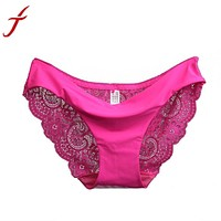 Women's Sexy Lace Seamless Breathable Plus Size Panties