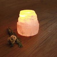 Selenite Tower Tealight