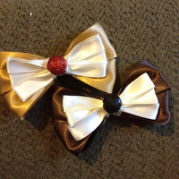 Disneys Chip and Dale Inspired bows