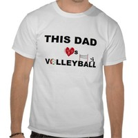 THIS DAD LOVES VOLLEYBALL from Zazzle.com