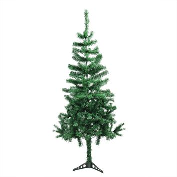 "13.75"" Decorative Wooden Christmas Tree Cut-Out Table Top Decoration"