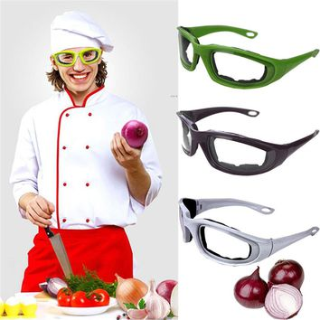 No-Fog No-Tears Onion Goggles Sponge Design Comfortable Vegetable Cutter Onion Protector Eye Tearless Glasses Kitchen Tool