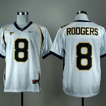 LMFH31 NIKE California Golden Bears Aaron Rodgers 8 College Football Jersey