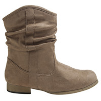 Short Faux Suede Slouch Boot   Shop Fall Festivals at Wet Seal