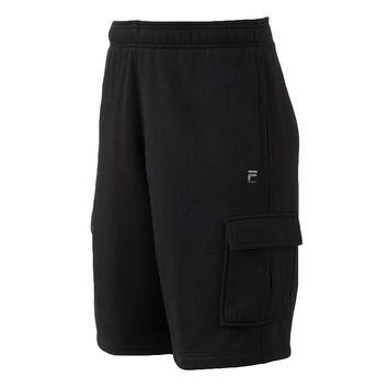 FILA SPORT The Barkley Fleece Cargo Shorts - Big & Tall