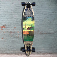 "Longboard Pintail Gravity 45"" - Tres Palmas - Complete"
