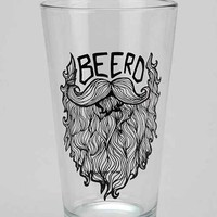 Beerd Pint Glass- Assorted One