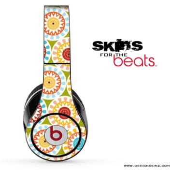 Color Circle Pattern Skin for the Beats by Dre