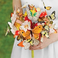 Butterfly Bouquet - Martha Stewart Weddings Flowers