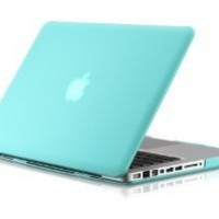 "Osaka FROST series Turquoise (special blue) Rubberized Case / Cover for 13"" A1278 Aluminum Unibody MacBook Pro (Black keys, 13.3-inch diagonal screen), 2-day 30% off"