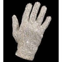 Set of 3 Glitter Sequin Costume Glove (Right Hand) (3 Pack) - Includes Bewild Bracelet