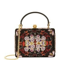 Alexander McQueen Insignia Patchwork Cross Body Bag | Harrods