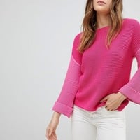 Esprit Colour Block Knitted Jumper at asos.com