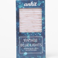 Ankit Tiny Twinklings String Lights - Womens Scarves - Blue - One
