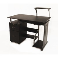 Comfort Products 50-100505 Rothmin Computer Desk with Storage Cabinet