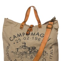 Campomaggi Tote bag - beige - Zalando.co.uk