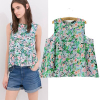 New Hot Fashion Womens Casual Blouse Short Foever21 Like Sleeve Shirt T shirt Summer Blouse Tops = 4721795524