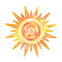 'Sunshine' Sticker by feliciasdesigns