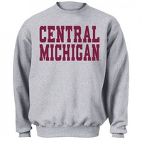 CMU 'Blocky Text' Sweatshirt (B) | Campus Den
