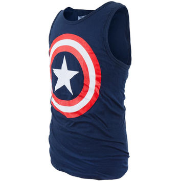 Captain America - '80s Captain Tank Top