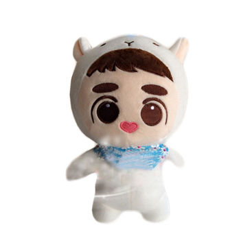 """[PCMOS] 2017 New KPOP EXO Plush Doh Kyungsoo D.O. 24cm 9"""" Baby Doll Stuffed Handmade Fans Toy Collection Free Shipping 16080405"""