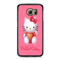 Hello Kity Love Suit Samsung Galaxy S6 Case