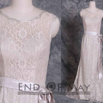 Lace O Neck Long Bridesmaid Dresses,Lace Bridesmaid Dresses,long prom dresses,prom dresses,prom dress long,prom dress,lace prom dresses