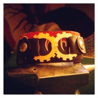 Up-Cycled steampunk bracelet