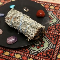 SAGE AND LAVENDER SMUDGE WAND