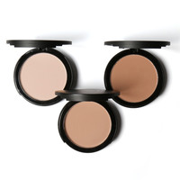 LEARNEVER Fashion Pressed Face Make Up Cosmetics Powder 3 Colors Makeup Powder Palette Skin Finish M02533
