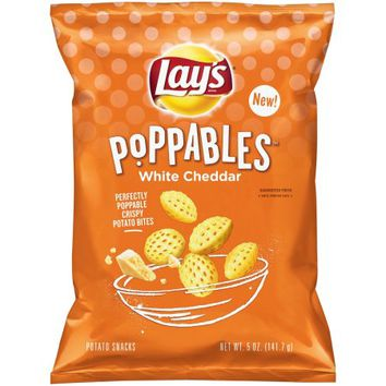 Lay's Poppables Potato Chips, White Cheddar, 5 Oz - Walmart.com