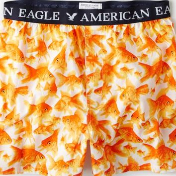 AEO Men's Goldfish Boxer (White)