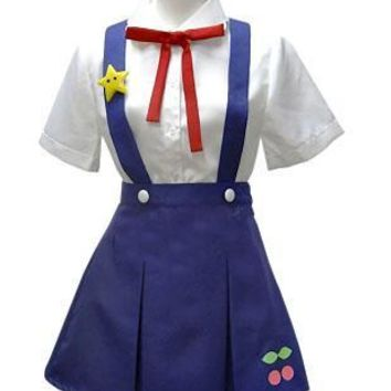 2015 New Girls Bakemonogatari  Hachikuji Mayoi Cosplay Japanese Anime School Uniform Cosplay for Women