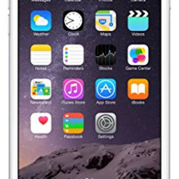 Apple iPhone 6 Plus Factory Unlocked Cellphone, 64GB, Silver